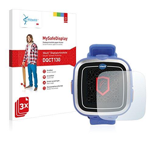 3x-Vikuiti-MySafeDisplay-Protector-de-Pantalla-DQCT130-de-3M-para-Vtech-Kidizoom-Smart-Watch-1