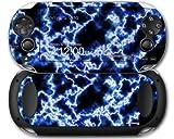 Sony PS Vita Skin Electrify Blue by WraptorSkinz