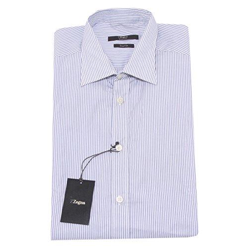 4671O camicia manica lunga LINEA ZZEGNA ERMENEGILDO ZEGNA uomo shirt men [40 (15 3/4)]