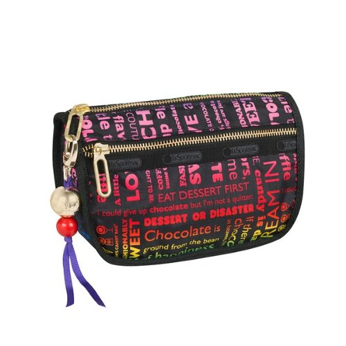 Dylan's Candy Bar LeSportsac Candy Zip Cosmetic in Sweet Talk