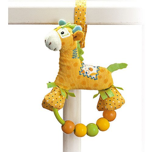 GUND Baby - Hopscotch Beaded Rattle Giraffe