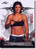 2010 Leaf MMA #10 Gina Carano (Mixed Martial Arts) Trading Card in Screwdown Display Case