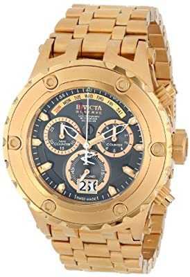 Invicta Men's 14470 Subaqua Analog Swiss-Quartz Gold Watch