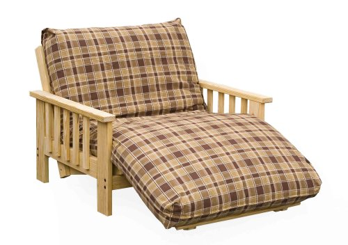 Mission Futon Twin Lounger w/ 9inch Premium Futon Mattress