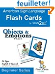 American Sign Language Flashcards: Ob...