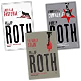 Philip Roth 3 Books Collection Pack Set RRP: �26.97 (American Pastoral, The Human Stain, I Married a Communist)by Philip Roth