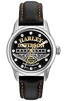Harley-Davidson Women's Bulova 110th Anniversary Watch. 76L164