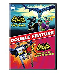 Batman vs. Two-Face and Batman: Return of the Caped Crusaders 2-Film Collection