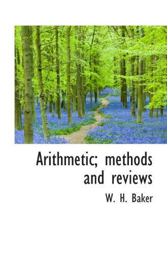 Arithmetic; methods and reviews
