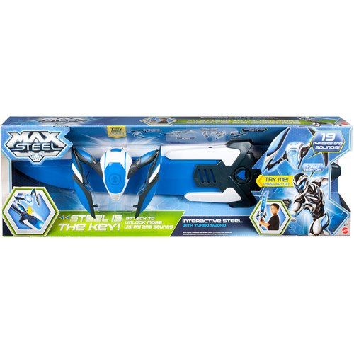 Max Steel Interactive Steel Action Figure with Tu - 1