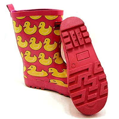 Sweet Chilli Duck Print Wellington Boots