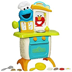 Sesame Street Cookie Monster Kitchen Cafe