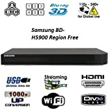 Samsung BD-H5900 Upgraded Wi-Fi Multi Region Zone Free Blu Ray DVD Player - PAL/NTSC 10