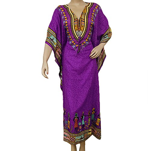 Polyester Kaftan Plus Size Maxi Casual Dress Bathing Suit Cover Up Tunic Caftan