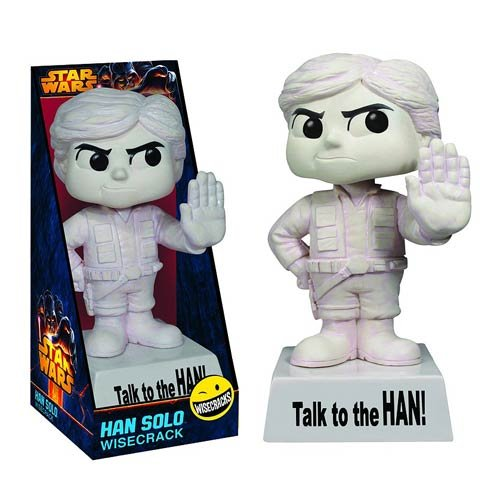 Funko Star Wars Wacky Wisecracks Han Solo Action Figure - 1