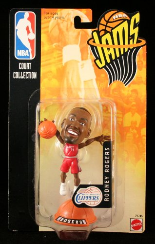 RODNEY ROGERS / LOS ANGELES CLIPPERS * 98/99 Season * NBA JAMS Super Detailed * 3 INCH * Figure - 1