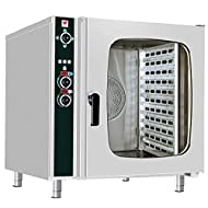North Pro Gas FCN 150 Electric Convection/Steam Oven for 10x GN 1/1 or 10 Trays 600x400mm - LxWxH: 985x940x980mm (400V-3N-AC-50Hz) (Made in Greece)