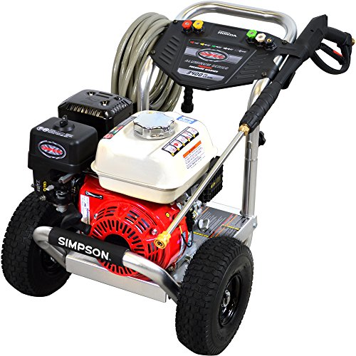 SIMPSON Cleaning ALH3425 Aluminum 3400 PSI Gas Pressure Washer Powered by Honda GX200 Engine (Honda Commercial Pressure Washer compare prices)