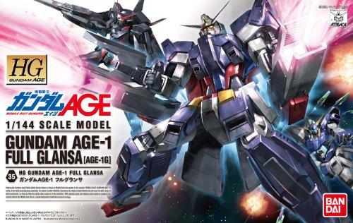 HG 1/144 AGE-1G ガンダムAGE-1 フルグランサ (機動戦士ガンダムAGE)