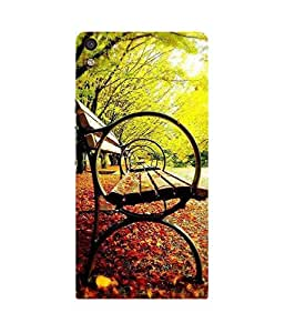 Bench Mystery Huawei Ascend P6 Case