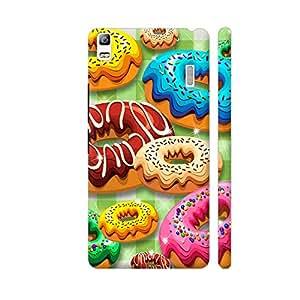 Colorpur Donuts Party Time Artwork On Lenovo A7000 Cover (Designer Mobile Back Case)   Artist: BluedarkArt
