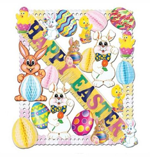 Easter Decorating Kit - 25 piece
