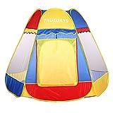 (イクラク)Truedays 室内 室外 子供の遊具テント ボールプール 知育玩具 専用収納ケース付き ボール付けない