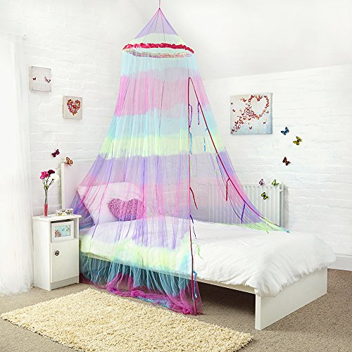 princess-bed-canopy-stunning-rainbow-childrens-bed-canopy-quick-and-easy-to-hang-girlsbedroom-access