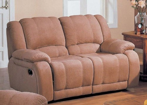 Buy Low Price Acme Upholstery Recliner Loveseat Sofa Sand Microfiber (VF_AZ00-45399×22167)