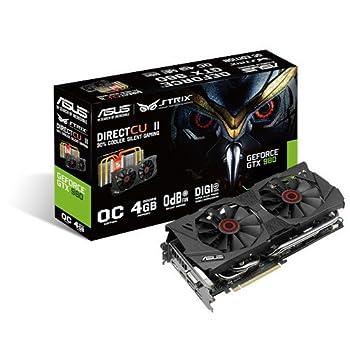 ASUSTek社製 NVIDIA GeForce GTX 980搭載グラフィックスカード(オーバークロック) STRIX-GTX980-DC2OC-4GD5