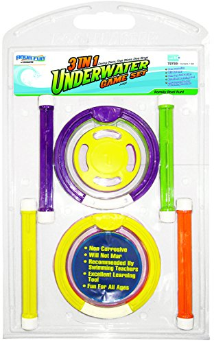 Poolmaster 72733 3-In-1 Underwater Game Set