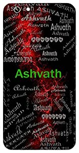 Ashvath (Strong) Name & Sign Printed All over customize & Personalized!! Protective back cover for your Smart Phone : Samsung Galaxy S4mini / i9190