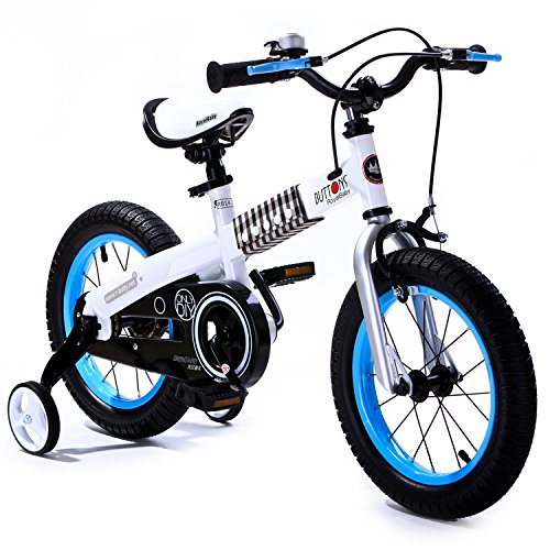 r-baby-buttons-freestyle-bmx-kids-bikes-heavy-duty-removable-stabiliserswhite-frame-blue-wheel-in-si