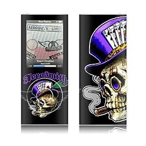 MusicSkins Aerosmith - Poker Skull for Apple iPod nano (4th Generation)