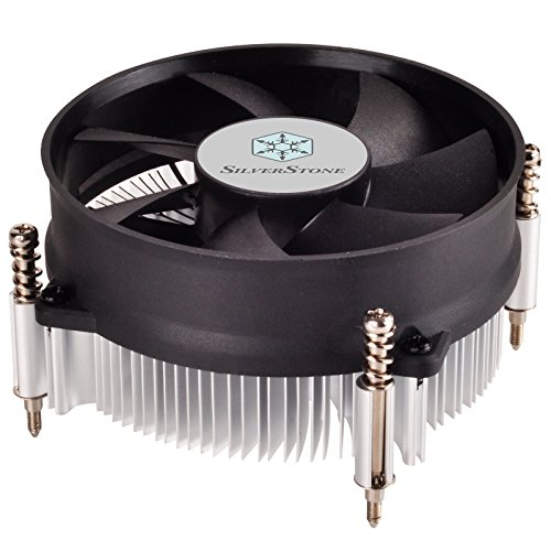 SilverStone Technology Nitrogen Series Low Profile CPU Cooler RL-NT09-115X (Silverstone Cpu Cooler compare prices)
