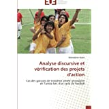 Analyse discursive et vérification des projets d'action: Cas des garçons de troisième année secondaire en Tunisie...