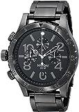 Nixon Men's 48-20 Geo Volt Stainless Steel Chronograph Watch