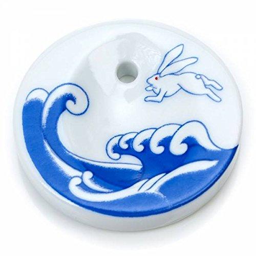 Japonés de lavanda soporte de cerámica