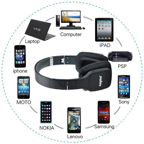 Kopfhörer FÜR  iPad 2 iPhone 4 4S 5 iPhone 5S iPod Touch Mic Headset Pink L38