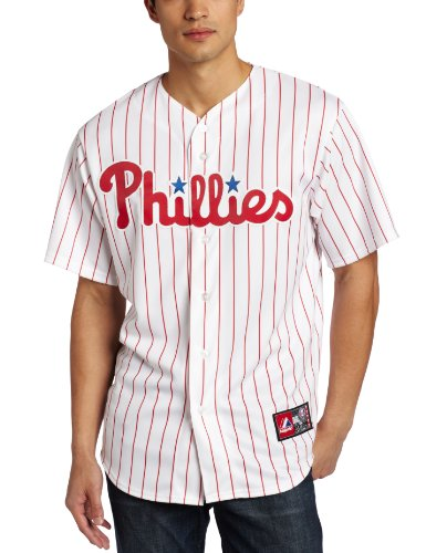 MLB Philadelphia Phillies Roy Halladay Home Replica Jersey, White/Red, Medium at Amazon.com