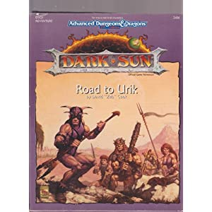 Amazon.com: Road to Urik (Dsq1, Dark Sun Game): Advanced Dungeons ...