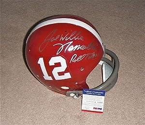 Joe Willie Namath Signed Roll Tide Alabama 1964 TK Full Size Helmet Q82999 - PSA DNA... by Sports+Memorabilia