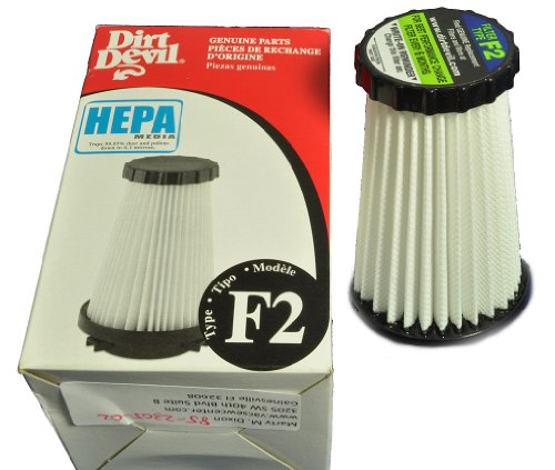 Dirt Devil Upright Vacuum Cleaner Style F2 Hepa Filter