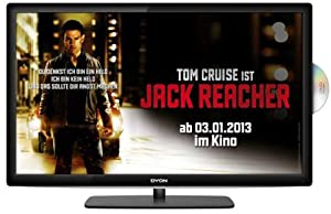 Dyon TAV 24 Basic (D800038) 59,9 cm (23,6 Zoll) LED-Backlight-Fernseher (DVB-C/T, DVD-Player, CI+, Hotel-Modus)