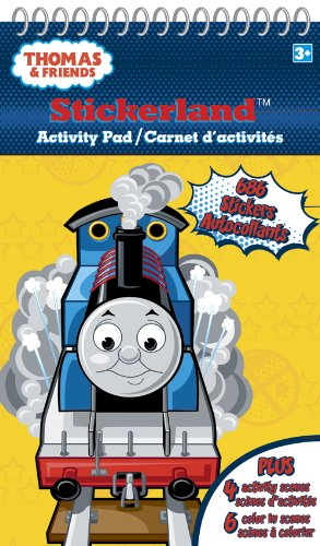 Thomas the Tank   Stickerland Activity Pads - 16 Page - 1