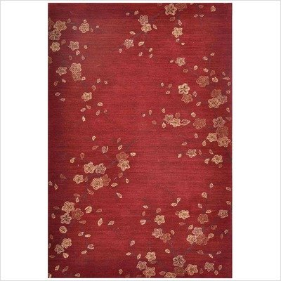 Jaipur Rugs Inc Hand Tufted, Cherry Blossom Red/Red, 2 by 3