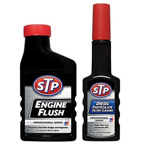 stp-professional-series-engine-flush-450ml-diesel-particulate-filter-cleaner-200ml-set