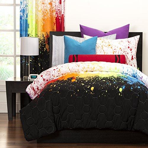 Crayola Crayon Paint Splash 2 Piece Comforter Set Twin
