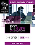 img - for Bisk CPA Review: Business Environment & Concepts - 38th Edition 2009-2010 (Comprehensive CPA Exam Review Business Environment & Concepts) book / textbook / text book