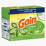 Gain With Freshlock Original Powder Detergent 150 Loads 172 Oz